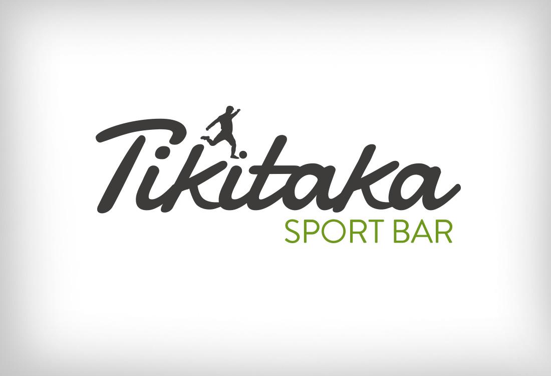 Logotipo de Tikitaka Sport Bar