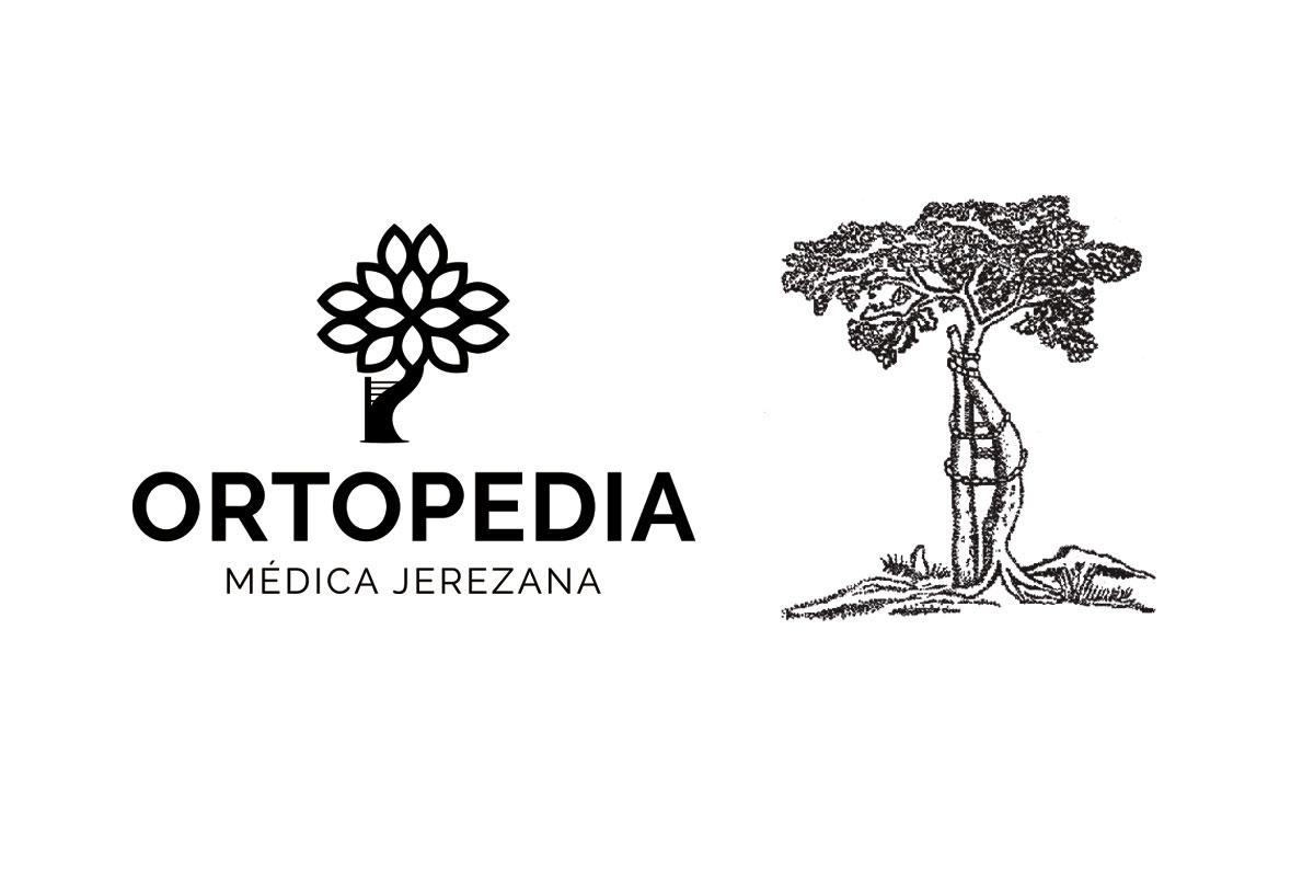 diseño logo Ortopedia médica jerezana