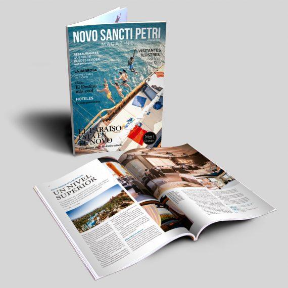 revista novo sancti petri magazine