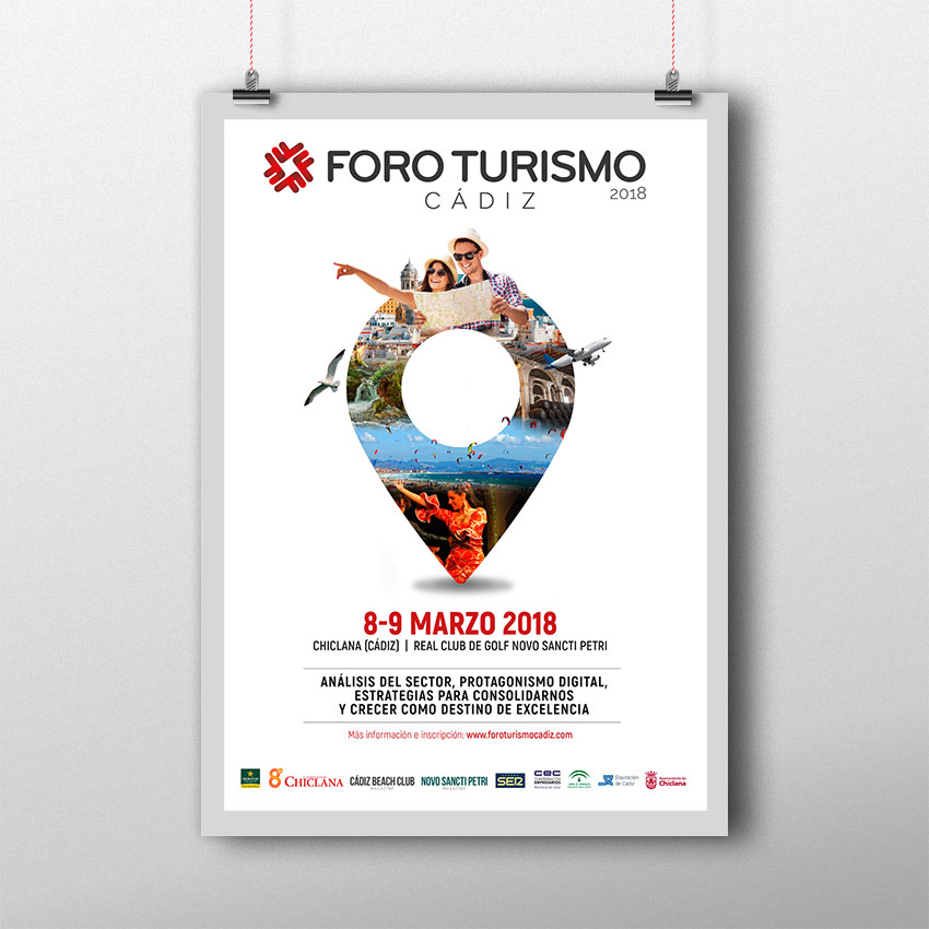 Cartel Foro Turismo Cádiz