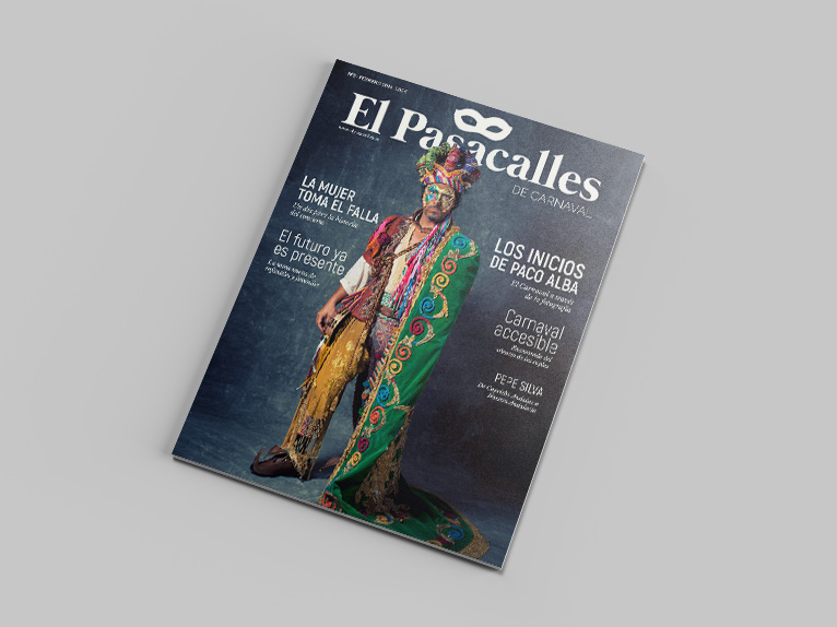 Diseño de la revista El Pasacalles de Carnaval